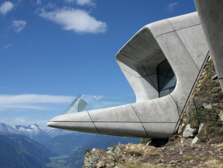 Messner Mountain Museums in Bruneck | Projekte von Saint-Gobain Building Glass