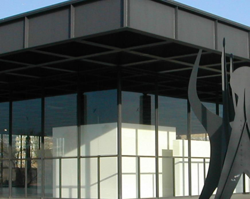 Neue Nationalgalerie in Berlin | Saint-Gobain Building Glass