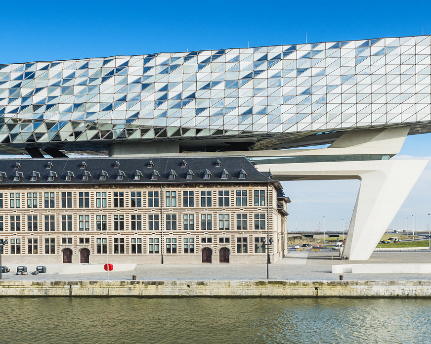 Antwerps Port House | Projekte Saint-Gobain Building Glass