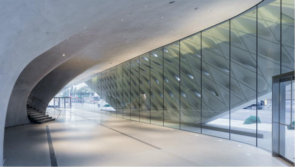 Museum the Broad Los Angeles   Projekte Saint-Gobain Building Glass