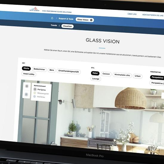 Saint-Gobain Glass Visualisierung-Tool